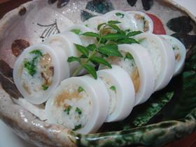 いか飯ならぬいか寿司