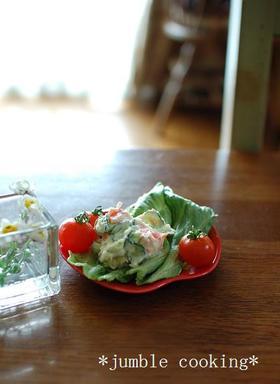 懐かしい味♪ポテトサラダ