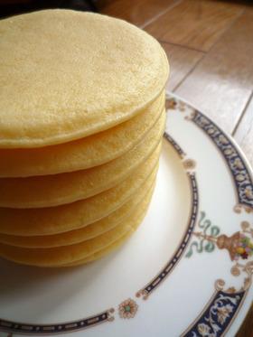 むちむち★米粉のパンケーキ