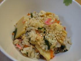 バター風味✿筍と桜海老ごはん