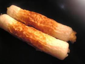 ちくわの玉葱チーズ詰め
