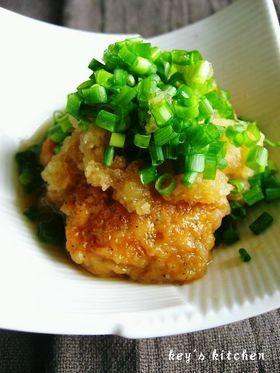 鶏からおろし煮