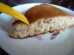 香るイチゴのホットケーキ