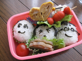 小学生のお弁当(春休み編)2