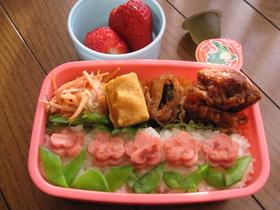 小学生のお弁当(春休み編)3