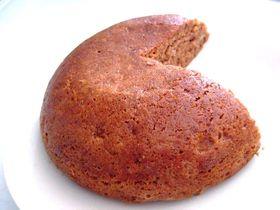 炊飯器で作るチョコバナナケーキ