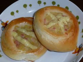 ポテサラチーズパン