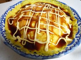キャベツと薄焼き卵の「ぺい焼き」