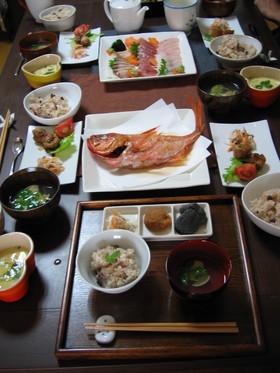 100日祝い☆お食い初め☆