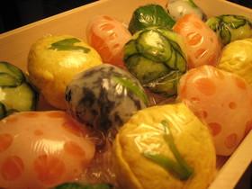 お花見弁当 ♡ 簡単 手まり寿司 ♡