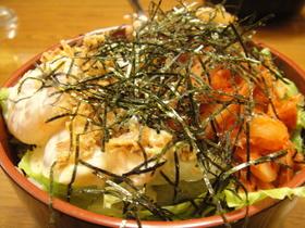*カフェ風*エビキムチ丼 アボカドのせ