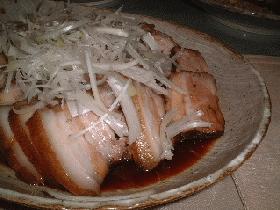 豚バラの紅茶煮