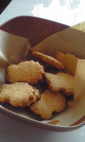 自分史上最高にサクサク☆木の実のクッキー