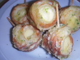 竹輪チーズの磯辺揚げ(お弁当)