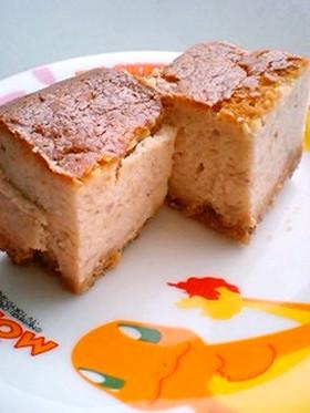 進化系☆伝説の苺チーズケーキ