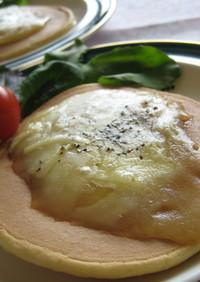アボカドチーズのパンケーキ