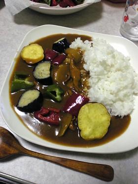 彩り野菜のカレー
