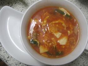 ★簡単キムチスープ★