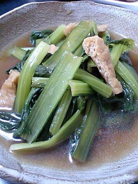 普通の小松菜煮浸し
