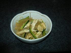 春雨と鶏肉の中華風サラダ