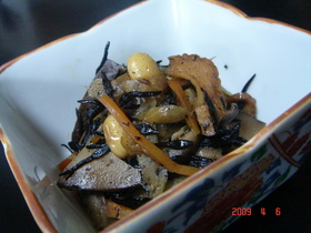 大豆とひじきの五目煮
