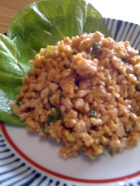 懐かしのメニュー✿スタミナ納豆