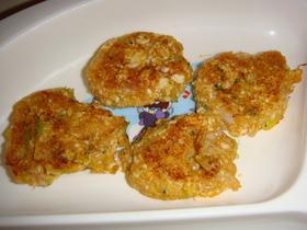ツナと野菜の豆腐ハンバーグ