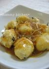 私の豆腐団子甘辛ダレ煮&活用レシピ