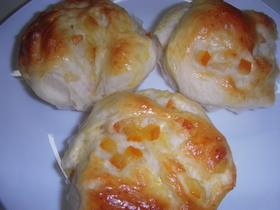 炊飯器で発酵パン(オレンジロール)