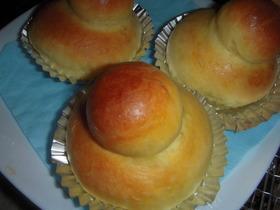 炊飯器で発酵パン(ブリオッシュ)