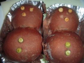 炊飯器で発酵パン(ダブルチョコ)
