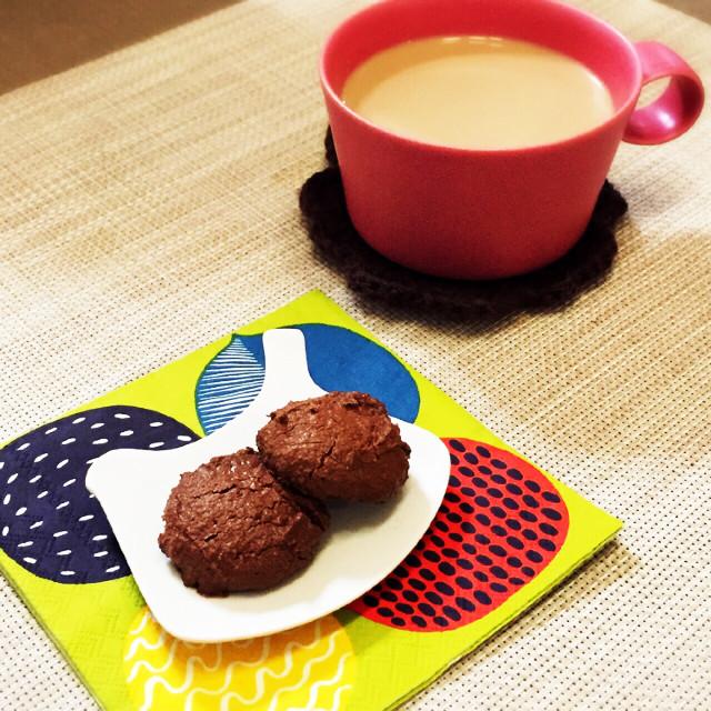 ガルボ?!な焼きチョコクッキー☆