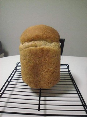 グラハム粉入りの食パン