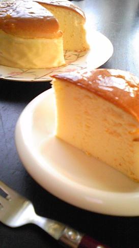 *ヘルシーおいしースフレチーズケーキ*