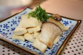 高野豆腐とエリンギの粉チ-ズ焼き