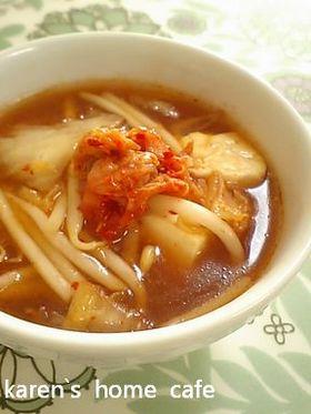 もやしたっぷり旨みたっぷり★キムチスープ