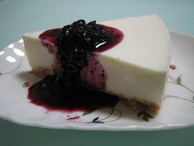 簡単混ぜるだけのレアチーズケーキ