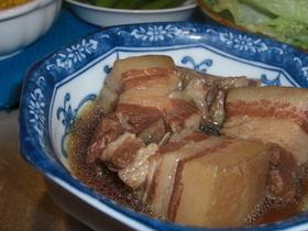 簡単豚の角煮