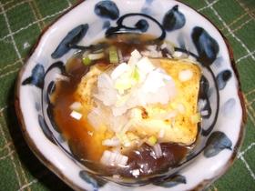 フライパンで☆和風あんかけ豆腐
