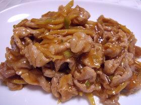 ケチャップで♥豚肉の生姜焼き