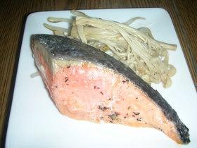 ラクラク塩鮭蒸し
