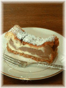 mamamkissの☆チョコマーブルチーズケーキ☆