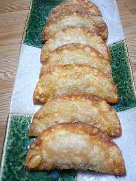 カリッカリ☆ツナ・大葉・チーズの揚げ餃子