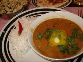 北インド家庭の豆カレー(チャナマサラ)