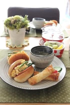 朝ごはんに☆スクランブルエッグサンド