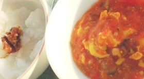 ☆Love離乳食☆トマトと卵の中華あん