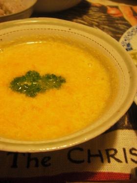 ミキサーで簡単!キャロットスープ