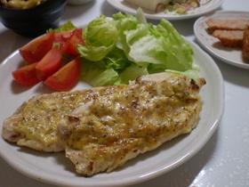 安い☆簡単☆鶏ササミのマヨマスタード焼き