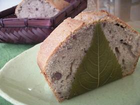 桜と小豆のパウンドケーキ