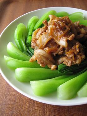 豚バラ肉の生姜煮